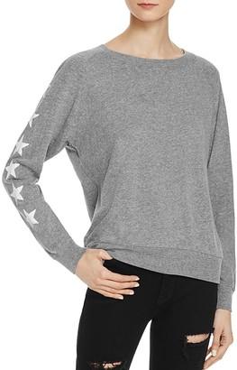 Nation LTD Military Star Raglan Sweatshirt - 100% Exclusive $76 thestylecure.com