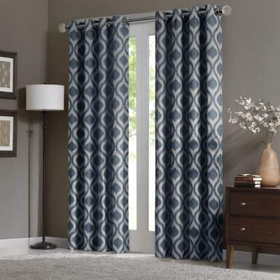 Wayfair Grettyl Grommet Single Curtain Panel
