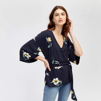 Warehouse Buttercup Kimono Jacket