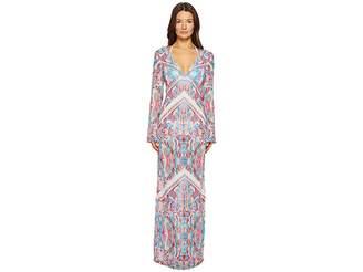 La Perla Free Spirit Long Sleeve Long Dress Women's Swimwear