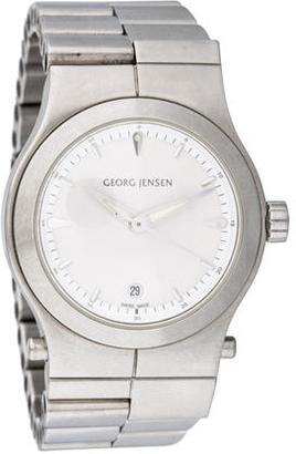 Georg Jensen Quartz Watch $295 thestylecure.com