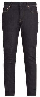 Valentino Rockstud Straight Leg Jeans - Mens - Indigo