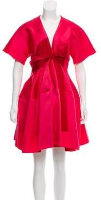 Paule Ka 2016 Ruched Mini Dress