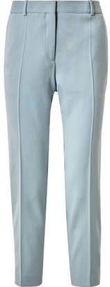 Jil Sander Wool Straight-leg Pants - Sky blue