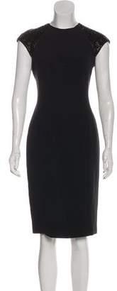 Ralph Lauren Embellished Midi Dress