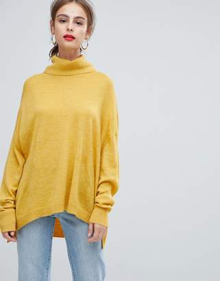 Pieces Roll Neck Sweater
