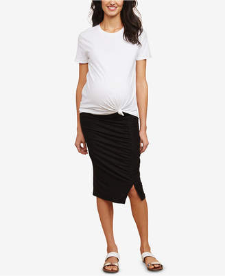 Motherhood Maternity Pencil Skirt