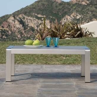 Wade Logan Durbin Outdoor Aluminum Coffee Table