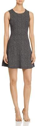 Vero Moda Dot Fit-and-Flare Dress