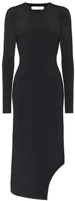 Victoria Beckham Ribbed knit midi dress