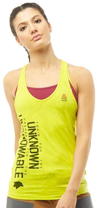 Damen CrossFit Cordura Speedwick Strength Top Gelb