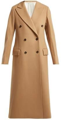 Joseph Arlon Wool Blend Coat - Womens - Camel