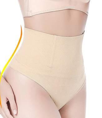 1b5366aced OUSPOTS Women Waist Cincher Tummy Control Panty Thong Shapewear Butt Lifter