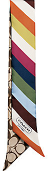 Legacy Stripe Ponytail Scarf