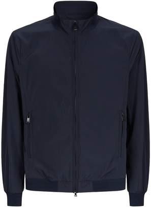 Paul & Shark Seersucker Zip-Up Jacket