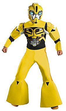 Bumble Bee Transformers Bumblebee Animated Deluxe Child Costume
