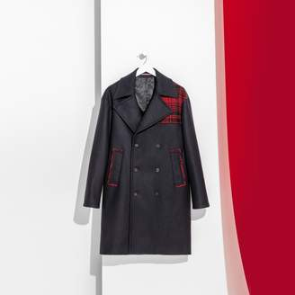 Tommy Hilfiger Long Woolen Naval Coat