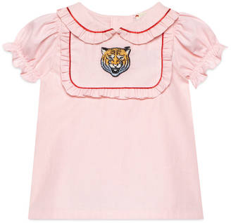 Baby cotton shirt with tiger $335 thestylecure.com