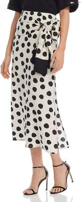 Mother of Pearl No Frills by Polka Dot Skirt