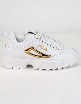 Fila Disruptor 2 Metallic Accent Womens Shoes