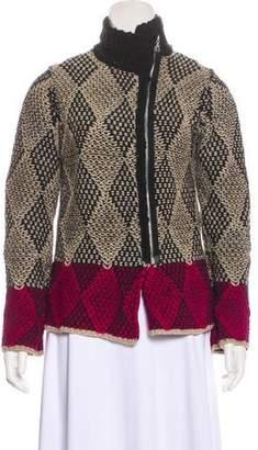 Dries Van Noten Cable Knit Jacket