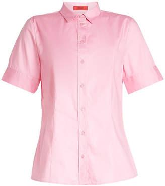 HUGO Short Sleeved Cotton Shirt