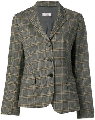 Alberto Biani checked tailored blazer
