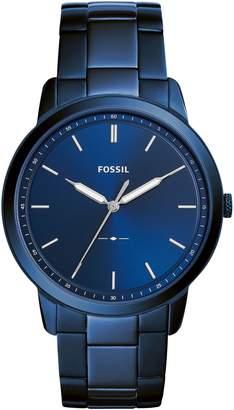 Fossil Minimalist Bracelet Watch, 44mm