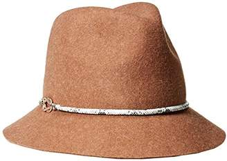 51b87cfa5cbeab Eugenia Kim Genie by Women's Jordan Wool Felt Fedora Hat with Vegan Leather  Cord