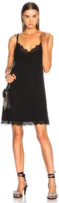 Chloe Parachute Silk Lace Trim Slip Dress