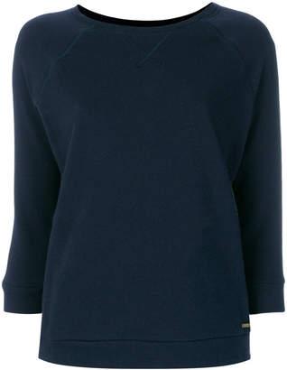 Woolrich cropped sleeve sweatshirt