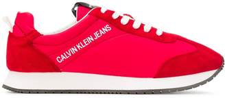 Calvin Klein Jeans smooth panel sneakers