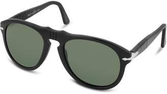 Persol Arrow Signature Aviator Plastic Sunglasses