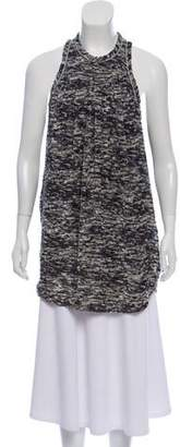 Isabel Marant Devoré Sleeveless Tunic