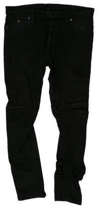 Maison Margiela Wrinkle Denim Skinny Jeans