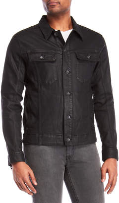William Rast Erwin Coated Denim Jacket