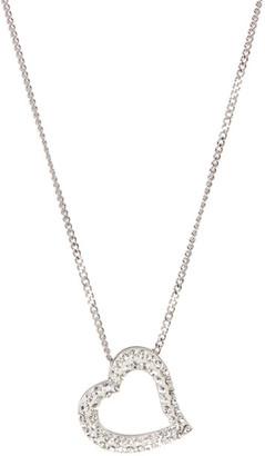 Swarovski Mozart Crystal Heart Necklace $79 thestylecure.com