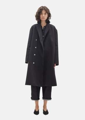 Le Vestiaire de Jeanne Unisex Black Denim Coat Jean Noir