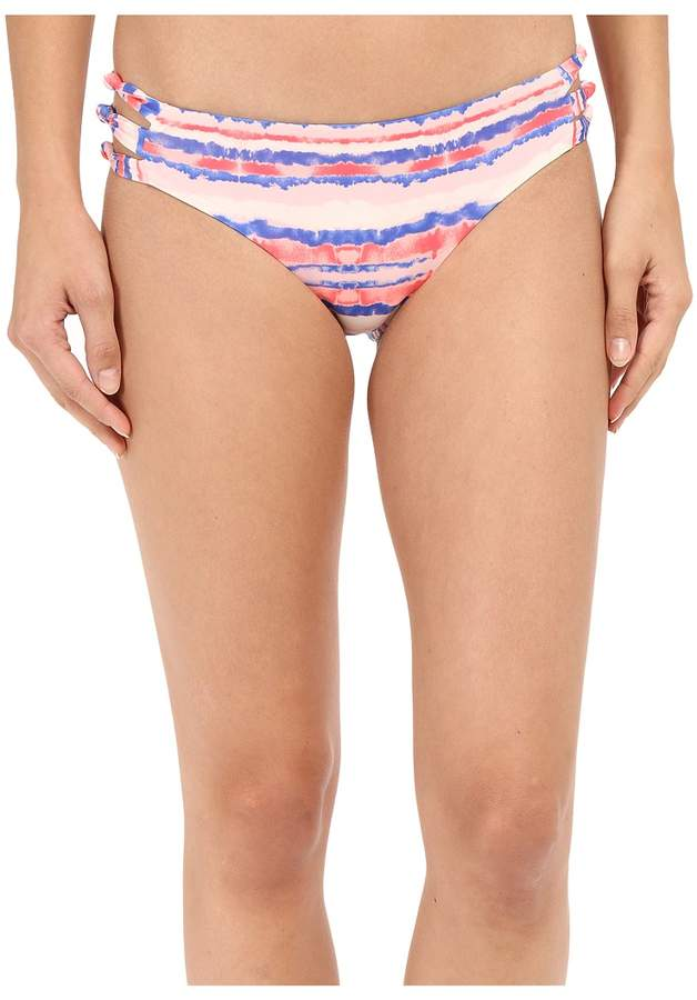 Roxy Sea Stripe Knotted Scooter Tie Pants