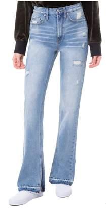 Juicy Couture Distressed Denim Bootcut Jean