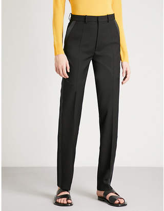 Joseph Grain de Poudre Fever regular-fit cady tuxedo Trousers