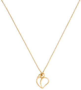 Tiffany & Co. Paloma Picasso Heart Pendant Necklace $325 thestylecure.com