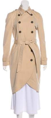 Gryphon Double-Breasted Trench Coat