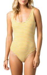 Rip Curl Island Stripe One-Piece Swimsuit