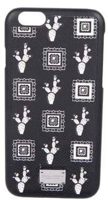 Dolce & Gabbana Cactus Print iPhone Case