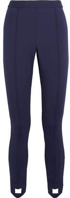 Tory Sport Stretch-jersey Slim-leg Stirrup Pants - Navy