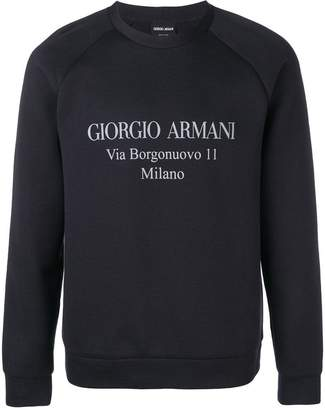 Giorgio Armani logo sweatshirt