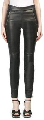 Alexander McQueen Leather Leggings