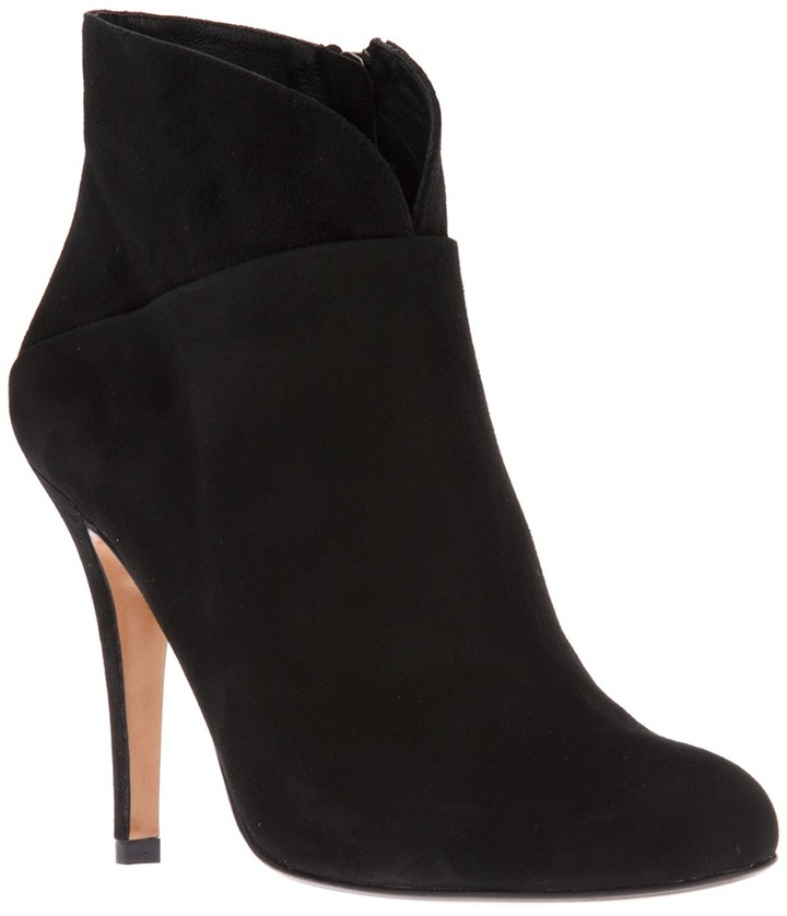 T & F Slack Shoemakers London suede ankle boot