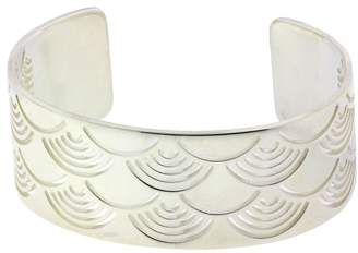 Bulgari Enigma By Sterling Silver Sun Bangle Size Large